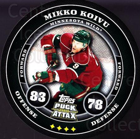 2009-10 Topps Puck Attax #90 Mikko Koivu<br/>1 In Stock - $2.00 each - <a href=https://centericecollectibles.foxycart.com/cart?name=2009-10%20Topps%20Puck%20Attax%20%2390%20Mikko%20Koivu...&quantity_max=1&price=$2.00&code=271748 class=foxycart> Buy it now! </a>