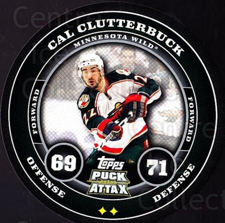 2009-10 Topps Puck Attax #91 Cal Clutterbuck<br/>6 In Stock - $2.00 each - <a href=https://centericecollectibles.foxycart.com/cart?name=2009-10%20Topps%20Puck%20Attax%20%2391%20Cal%20Clutterbuck...&quantity_max=6&price=$2.00&code=271749 class=foxycart> Buy it now! </a>