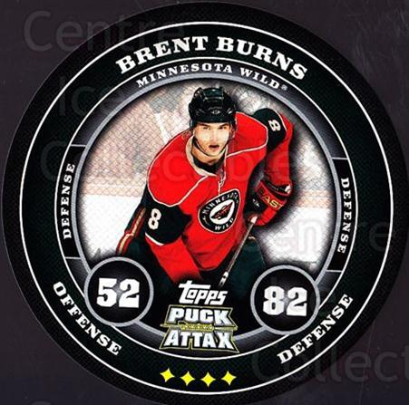 2009-10 Topps Puck Attax #93 Brent Burns<br/>1 In Stock - $2.00 each - <a href=https://centericecollectibles.foxycart.com/cart?name=2009-10%20Topps%20Puck%20Attax%20%2393%20Brent%20Burns...&quantity_max=1&price=$2.00&code=271751 class=foxycart> Buy it now! </a>