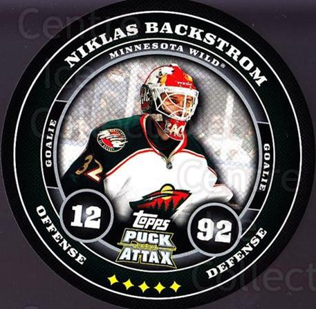 2009-10 Topps Puck Attax #94 Niklas Backstrom<br/>3 In Stock - $2.00 each - <a href=https://centericecollectibles.foxycart.com/cart?name=2009-10%20Topps%20Puck%20Attax%20%2394%20Niklas%20Backstro...&quantity_max=3&price=$2.00&code=271752 class=foxycart> Buy it now! </a>