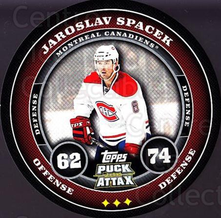 2009-10 Topps Puck Attax #100 Jaroslav Spacek<br/>1 In Stock - $2.00 each - <a href=https://centericecollectibles.foxycart.com/cart?name=2009-10%20Topps%20Puck%20Attax%20%23100%20Jaroslav%20Spacek...&quantity_max=1&price=$2.00&code=271758 class=foxycart> Buy it now! </a>