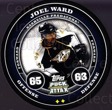 2009-10 Topps Puck Attax #104 Joel Ward<br/>9 In Stock - $2.00 each - <a href=https://centericecollectibles.foxycart.com/cart?name=2009-10%20Topps%20Puck%20Attax%20%23104%20Joel%20Ward...&price=$2.00&code=271762 class=foxycart> Buy it now! </a>