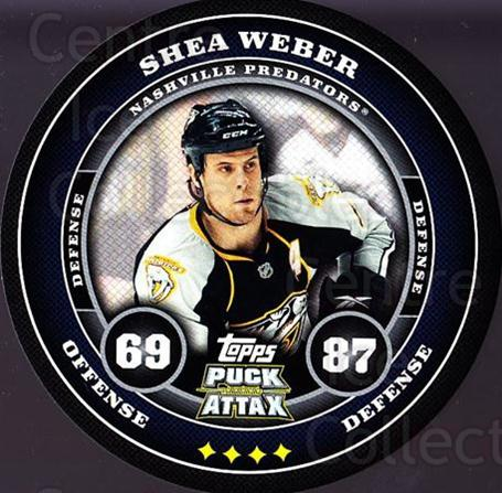 2009-10 Topps Puck Attax #106 Shea Weber<br/>3 In Stock - $2.00 each - <a href=https://centericecollectibles.foxycart.com/cart?name=2009-10%20Topps%20Puck%20Attax%20%23106%20Shea%20Weber...&quantity_max=3&price=$2.00&code=271764 class=foxycart> Buy it now! </a>