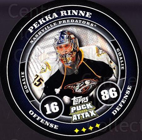 2009-10 Topps Puck Attax #108 Pekka Rinne<br/>1 In Stock - $2.00 each - <a href=https://centericecollectibles.foxycart.com/cart?name=2009-10%20Topps%20Puck%20Attax%20%23108%20Pekka%20Rinne...&quantity_max=1&price=$2.00&code=271766 class=foxycart> Buy it now! </a>