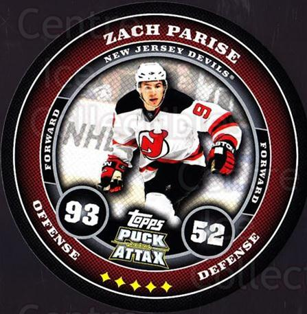 2009-10 Topps Puck Attax #109 Zach Parise<br/>3 In Stock - $2.00 each - <a href=https://centericecollectibles.foxycart.com/cart?name=2009-10%20Topps%20Puck%20Attax%20%23109%20Zach%20Parise...&quantity_max=3&price=$2.00&code=271767 class=foxycart> Buy it now! </a>