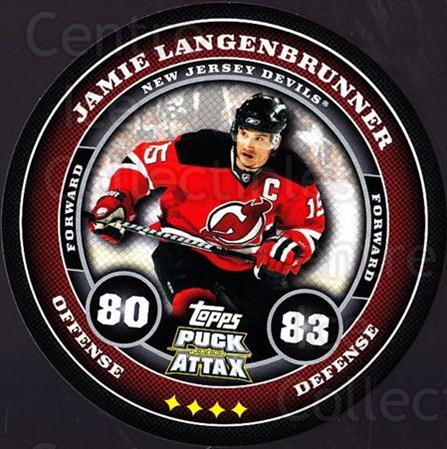 2009-10 Topps Puck Attax #111 Jamie Langenbrunner<br/>4 In Stock - $2.00 each - <a href=https://centericecollectibles.foxycart.com/cart?name=2009-10%20Topps%20Puck%20Attax%20%23111%20Jamie%20Langenbru...&quantity_max=4&price=$2.00&code=271769 class=foxycart> Buy it now! </a>