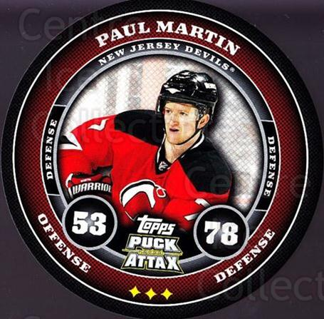 2009-10 Topps Puck Attax #112 Paul Martin<br/>1 In Stock - $2.00 each - <a href=https://centericecollectibles.foxycart.com/cart?name=2009-10%20Topps%20Puck%20Attax%20%23112%20Paul%20Martin...&quantity_max=1&price=$2.00&code=271770 class=foxycart> Buy it now! </a>
