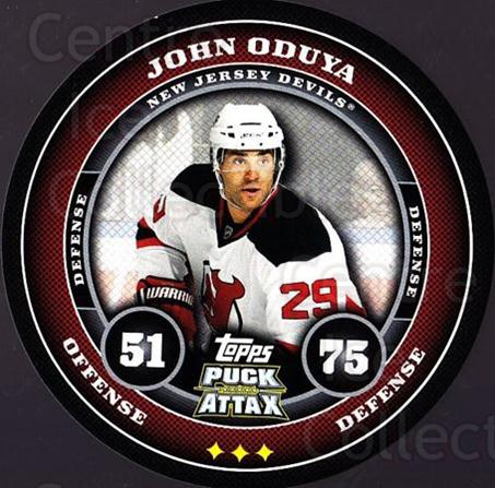 2009-10 Topps Puck Attax #113 John Oduya<br/>3 In Stock - $2.00 each - <a href=https://centericecollectibles.foxycart.com/cart?name=2009-10%20Topps%20Puck%20Attax%20%23113%20John%20Oduya...&quantity_max=3&price=$2.00&code=271771 class=foxycart> Buy it now! </a>