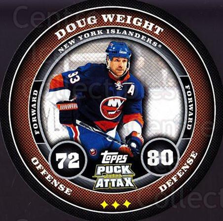 2009-10 Topps Puck Attax #115 Doug Weight<br/>2 In Stock - $2.00 each - <a href=https://centericecollectibles.foxycart.com/cart?name=2009-10%20Topps%20Puck%20Attax%20%23115%20Doug%20Weight...&quantity_max=2&price=$2.00&code=271773 class=foxycart> Buy it now! </a>