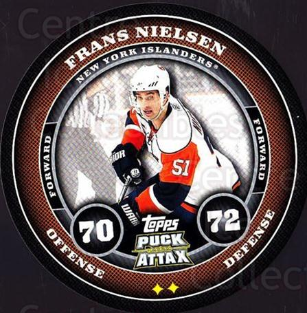2009-10 Topps Puck Attax #116 Frans Nielsen<br/>2 In Stock - $2.00 each - <a href=https://centericecollectibles.foxycart.com/cart?name=2009-10%20Topps%20Puck%20Attax%20%23116%20Frans%20Nielsen...&quantity_max=2&price=$2.00&code=271774 class=foxycart> Buy it now! </a>