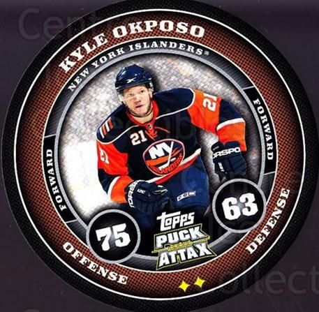 2009-10 Topps Puck Attax #117 Kyle Okposo<br/>3 In Stock - $2.00 each - <a href=https://centericecollectibles.foxycart.com/cart?name=2009-10%20Topps%20Puck%20Attax%20%23117%20Kyle%20Okposo...&quantity_max=3&price=$2.00&code=271775 class=foxycart> Buy it now! </a>