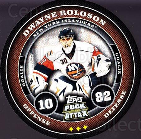2009-10 Topps Puck Attax #120 Dwayne Roloson<br/>1 In Stock - $2.00 each - <a href=https://centericecollectibles.foxycart.com/cart?name=2009-10%20Topps%20Puck%20Attax%20%23120%20Dwayne%20Roloson...&quantity_max=1&price=$2.00&code=271778 class=foxycart> Buy it now! </a>