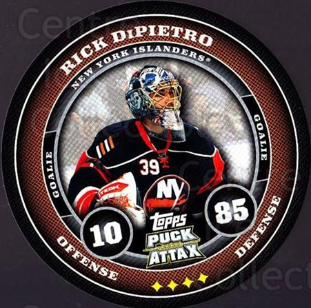 2009-10 Topps Puck Attax #121 Rick DiPietro<br/>1 In Stock - $2.00 each - <a href=https://centericecollectibles.foxycart.com/cart?name=2009-10%20Topps%20Puck%20Attax%20%23121%20Rick%20DiPietro...&quantity_max=1&price=$2.00&code=271779 class=foxycart> Buy it now! </a>