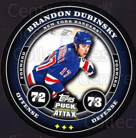 2009-10 Topps Puck Attax #123 Brandon Dubinsky<br/>5 In Stock - $2.00 each - <a href=https://centericecollectibles.foxycart.com/cart?name=2009-10%20Topps%20Puck%20Attax%20%23123%20Brandon%20Dubinsk...&quantity_max=5&price=$2.00&code=271781 class=foxycart> Buy it now! </a>