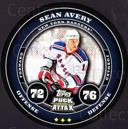 2009-10 Topps Puck Attax #125 Sean Avery<br/>6 In Stock - $2.00 each - <a href=https://centericecollectibles.foxycart.com/cart?name=2009-10%20Topps%20Puck%20Attax%20%23125%20Sean%20Avery...&quantity_max=6&price=$2.00&code=271783 class=foxycart> Buy it now! </a>