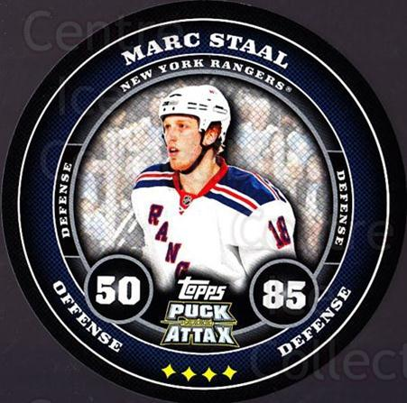 2009-10 Topps Puck Attax #127 Marc Staal<br/>4 In Stock - $2.00 each - <a href=https://centericecollectibles.foxycart.com/cart?name=2009-10%20Topps%20Puck%20Attax%20%23127%20Marc%20Staal...&quantity_max=4&price=$2.00&code=271785 class=foxycart> Buy it now! </a>
