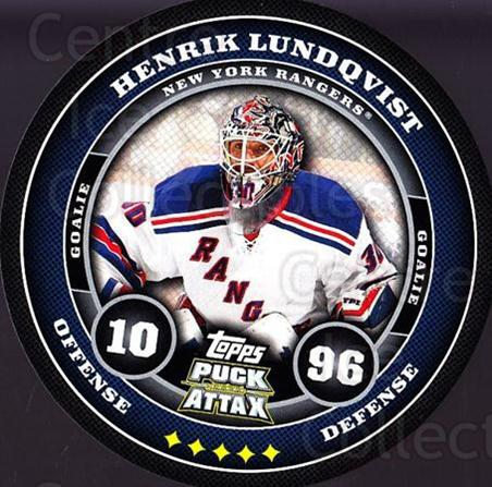 2009-10 Topps Puck Attax #128 Henrik Lundqvist<br/>3 In Stock - $2.00 each - <a href=https://centericecollectibles.foxycart.com/cart?name=2009-10%20Topps%20Puck%20Attax%20%23128%20Henrik%20Lundqvis...&quantity_max=3&price=$2.00&code=271786 class=foxycart> Buy it now! </a>