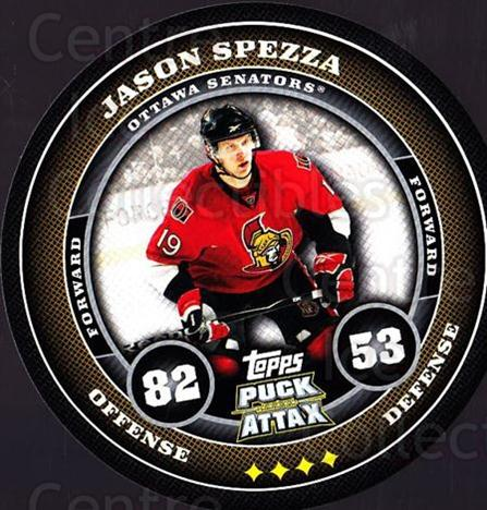 2009-10 Topps Puck Attax #129 Jason Spezza<br/>4 In Stock - $2.00 each - <a href=https://centericecollectibles.foxycart.com/cart?name=2009-10%20Topps%20Puck%20Attax%20%23129%20Jason%20Spezza...&quantity_max=4&price=$2.00&code=271787 class=foxycart> Buy it now! </a>