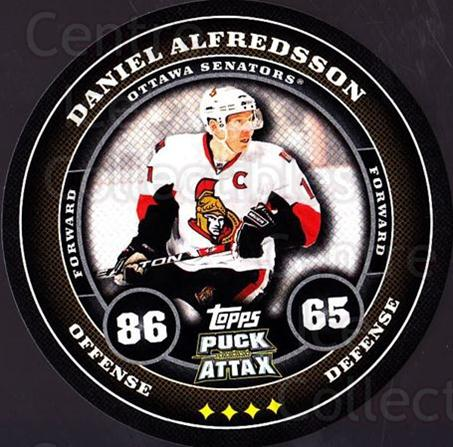 2009-10 Topps Puck Attax #131 Daniel Alfredsson<br/>6 In Stock - $2.00 each - <a href=https://centericecollectibles.foxycart.com/cart?name=2009-10%20Topps%20Puck%20Attax%20%23131%20Daniel%20Alfredss...&quantity_max=6&price=$2.00&code=271789 class=foxycart> Buy it now! </a>