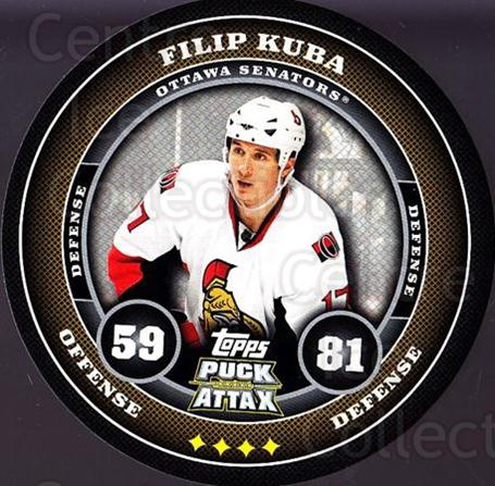 2009-10 Topps Puck Attax #132 Filip Kuba<br/>6 In Stock - $2.00 each - <a href=https://centericecollectibles.foxycart.com/cart?name=2009-10%20Topps%20Puck%20Attax%20%23132%20Filip%20Kuba...&quantity_max=6&price=$2.00&code=271790 class=foxycart> Buy it now! </a>