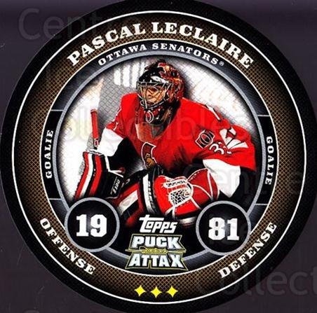 2009-10 Topps Puck Attax #134 Pascal Leclaire<br/>2 In Stock - $2.00 each - <a href=https://centericecollectibles.foxycart.com/cart?name=2009-10%20Topps%20Puck%20Attax%20%23134%20Pascal%20Leclaire...&quantity_max=2&price=$2.00&code=271792 class=foxycart> Buy it now! </a>