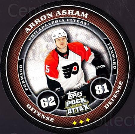 2009-10 Topps Puck Attax #137 Arron Asham<br/>1 In Stock - $2.00 each - <a href=https://centericecollectibles.foxycart.com/cart?name=2009-10%20Topps%20Puck%20Attax%20%23137%20Arron%20Asham...&quantity_max=1&price=$2.00&code=271795 class=foxycart> Buy it now! </a>