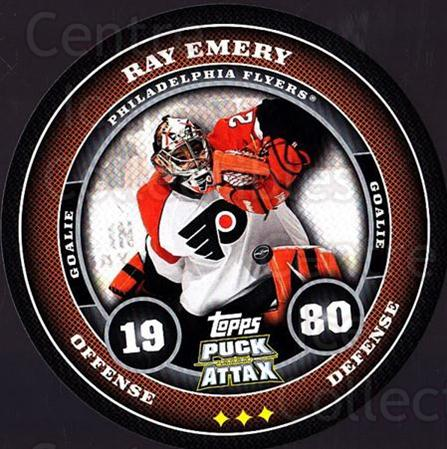 2009-10 Topps Puck Attax #141 Ray Emery<br/>1 In Stock - $2.00 each - <a href=https://centericecollectibles.foxycart.com/cart?name=2009-10%20Topps%20Puck%20Attax%20%23141%20Ray%20Emery...&quantity_max=1&price=$2.00&code=271799 class=foxycart> Buy it now! </a>