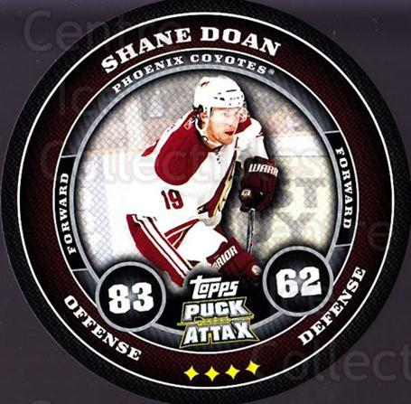 2009-10 Topps Puck Attax #144 Shane Doan<br/>3 In Stock - $2.00 each - <a href=https://centericecollectibles.foxycart.com/cart?name=2009-10%20Topps%20Puck%20Attax%20%23144%20Shane%20Doan...&quantity_max=3&price=$2.00&code=271802 class=foxycart> Buy it now! </a>