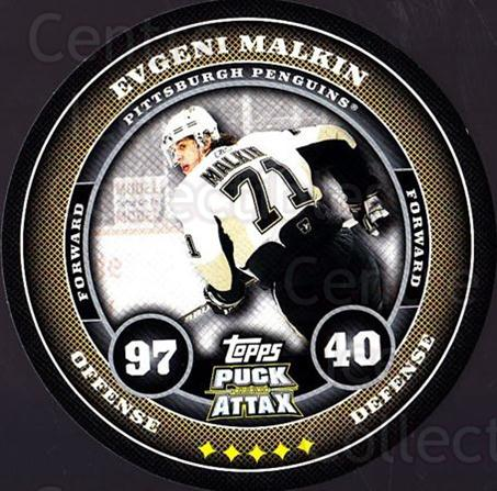 2009-10 Topps Puck Attax #150 Evgeni Malkin<br/>7 In Stock - $3.00 each - <a href=https://centericecollectibles.foxycart.com/cart?name=2009-10%20Topps%20Puck%20Attax%20%23150%20Evgeni%20Malkin...&quantity_max=7&price=$3.00&code=271808 class=foxycart> Buy it now! </a>