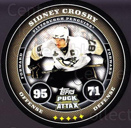 2009-10 Topps Puck Attax #151 Sidney Crosby<br/>3 In Stock - $5.00 each - <a href=https://centericecollectibles.foxycart.com/cart?name=2009-10%20Topps%20Puck%20Attax%20%23151%20Sidney%20Crosby...&price=$5.00&code=271809 class=foxycart> Buy it now! </a>