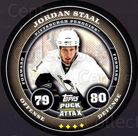2009-10 Topps Puck Attax #152 Jordan Staal<br/>3 In Stock - $2.00 each - <a href=https://centericecollectibles.foxycart.com/cart?name=2009-10%20Topps%20Puck%20Attax%20%23152%20Jordan%20Staal...&quantity_max=3&price=$2.00&code=271810 class=foxycart> Buy it now! </a>