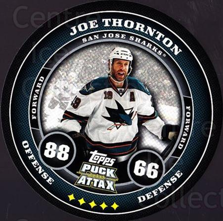 2009-10 Topps Puck Attax #156 Joe Thornton<br/>4 In Stock - $2.00 each - <a href=https://centericecollectibles.foxycart.com/cart?name=2009-10%20Topps%20Puck%20Attax%20%23156%20Joe%20Thornton...&quantity_max=4&price=$2.00&code=271814 class=foxycart> Buy it now! </a>
