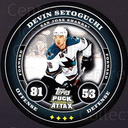 2009-10 Topps Puck Attax #158 Devin Setoguchi<br/>7 In Stock - $2.00 each - <a href=https://centericecollectibles.foxycart.com/cart?name=2009-10%20Topps%20Puck%20Attax%20%23158%20Devin%20Setoguchi...&quantity_max=7&price=$2.00&code=271816 class=foxycart> Buy it now! </a>