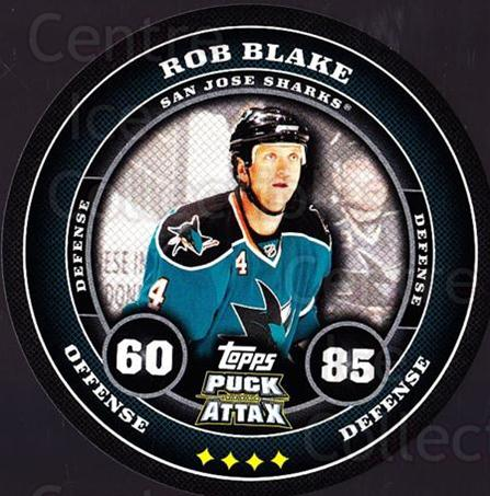 2009-10 Topps Puck Attax #160 Rob Blake<br/>1 In Stock - $2.00 each - <a href=https://centericecollectibles.foxycart.com/cart?name=2009-10%20Topps%20Puck%20Attax%20%23160%20Rob%20Blake...&quantity_max=1&price=$2.00&code=271818 class=foxycart> Buy it now! </a>