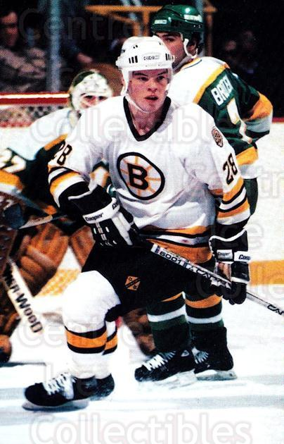 1984-85 Boston Bruins Postcards #17 Tom Fergus<br/>3 In Stock - $3.00 each - <a href=https://centericecollectibles.foxycart.com/cart?name=1984-85%20Boston%20Bruins%20Postcards%20%2317%20Tom%20Fergus...&price=$3.00&code=27181 class=foxycart> Buy it now! </a>