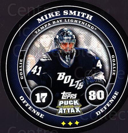2009-10 Topps Puck Attax #173 Mike Smith<br/>1 In Stock - $2.00 each - <a href=https://centericecollectibles.foxycart.com/cart?name=2009-10%20Topps%20Puck%20Attax%20%23173%20Mike%20Smith...&quantity_max=1&price=$2.00&code=271831 class=foxycart> Buy it now! </a>