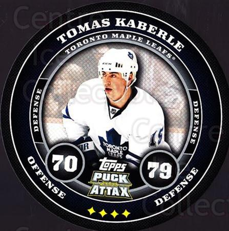2009-10 Topps Puck Attax #179 Tomas Kaberle<br/>2 In Stock - $2.00 each - <a href=https://centericecollectibles.foxycart.com/cart?name=2009-10%20Topps%20Puck%20Attax%20%23179%20Tomas%20Kaberle...&price=$2.00&code=271837 class=foxycart> Buy it now! </a>