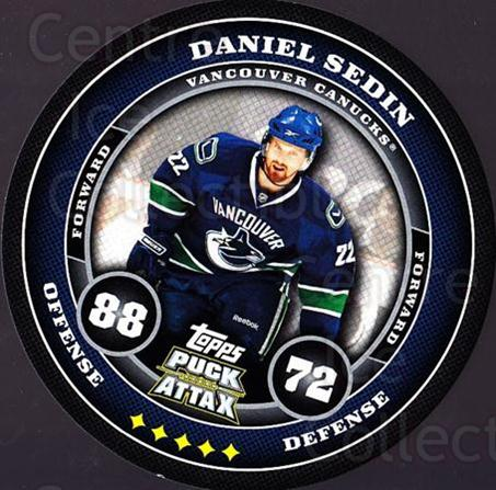 2009-10 Topps Puck Attax #183 Daniel Sedin<br/>5 In Stock - $2.00 each - <a href=https://centericecollectibles.foxycart.com/cart?name=2009-10%20Topps%20Puck%20Attax%20%23183%20Daniel%20Sedin...&quantity_max=5&price=$2.00&code=271841 class=foxycart> Buy it now! </a>