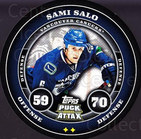 2009-10 Topps Puck Attax #184 Sami Salo<br/>5 In Stock - $2.00 each - <a href=https://centericecollectibles.foxycart.com/cart?name=2009-10%20Topps%20Puck%20Attax%20%23184%20Sami%20Salo...&quantity_max=5&price=$2.00&code=271842 class=foxycart> Buy it now! </a>