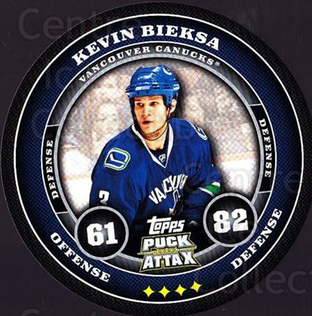 2009-10 Topps Puck Attax #185 Kevin Bieksa<br/>5 In Stock - $2.00 each - <a href=https://centericecollectibles.foxycart.com/cart?name=2009-10%20Topps%20Puck%20Attax%20%23185%20Kevin%20Bieksa...&quantity_max=5&price=$2.00&code=271843 class=foxycart> Buy it now! </a>