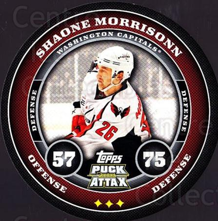 2009-10 Topps Puck Attax #191 Shaone Morrisonn<br/>3 In Stock - $2.00 each - <a href=https://centericecollectibles.foxycart.com/cart?name=2009-10%20Topps%20Puck%20Attax%20%23191%20Shaone%20Morrison...&quantity_max=3&price=$2.00&code=271849 class=foxycart> Buy it now! </a>