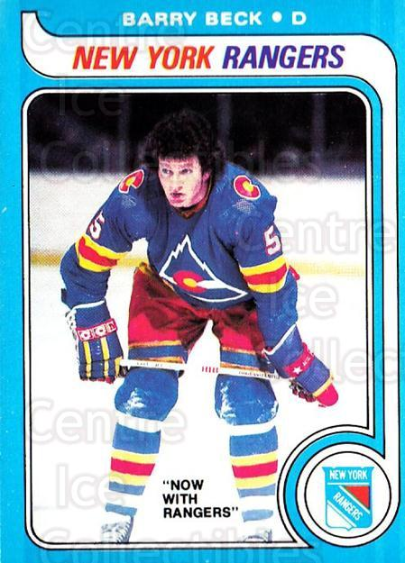 1979-80 O-pee-chee #35 Barry Beck<br/>2 In Stock - $2.00 each - <a href=https://centericecollectibles.foxycart.com/cart?name=1979-80%20O-pee-chee%20%2335%20Barry%20Beck...&quantity_max=2&price=$2.00&code=272001 class=foxycart> Buy it now! </a>