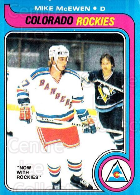 1979-80 O-pee-chee #66 Mike McEwen<br/>2 In Stock - $2.00 each - <a href=https://centericecollectibles.foxycart.com/cart?name=1979-80%20O-pee-chee%20%2366%20Mike%20McEwen...&quantity_max=2&price=$2.00&code=272032 class=foxycart> Buy it now! </a>