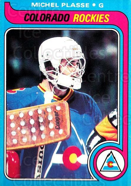 1979-80 O-pee-chee #69 Michel Plasse<br/>2 In Stock - $2.00 each - <a href=https://centericecollectibles.foxycart.com/cart?name=1979-80%20O-pee-chee%20%2369%20Michel%20Plasse...&quantity_max=2&price=$2.00&code=272035 class=foxycart> Buy it now! </a>
