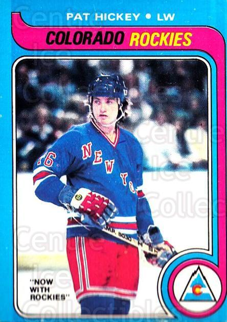 1979-80 O-pee-chee #86 Pat Hickey<br/>2 In Stock - $2.00 each - <a href=https://centericecollectibles.foxycart.com/cart?name=1979-80%20O-pee-chee%20%2386%20Pat%20Hickey...&quantity_max=2&price=$2.00&code=272052 class=foxycart> Buy it now! </a>