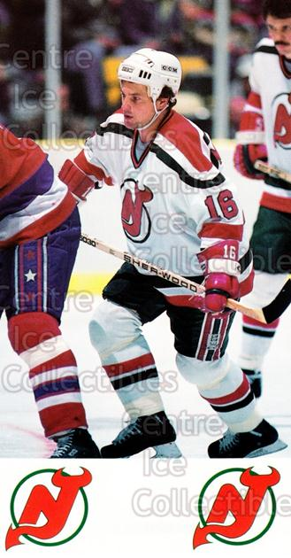 1984-85 New Jersey Devils Postcards #18 Rick Meagher<br/>7 In Stock - $3.00 each - <a href=https://centericecollectibles.foxycart.com/cart?name=1984-85%20New%20Jersey%20Devils%20Postcards%20%2318%20Rick%20Meagher...&quantity_max=7&price=$3.00&code=27206 class=foxycart> Buy it now! </a>
