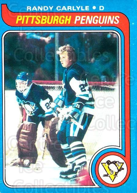 1979-80 O-pee-chee #124 Randy Carlyle<br/>2 In Stock - $3.00 each - <a href=https://centericecollectibles.foxycart.com/cart?name=1979-80%20O-pee-chee%20%23124%20Randy%20Carlyle...&quantity_max=2&price=$3.00&code=272090 class=foxycart> Buy it now! </a>