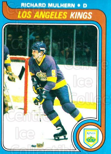 1979-80 O-pee-chee #133 Richard Mulhern<br/>4 In Stock - $2.00 each - <a href=https://centericecollectibles.foxycart.com/cart?name=1979-80%20O-pee-chee%20%23133%20Richard%20Mulhern...&quantity_max=4&price=$2.00&code=272099 class=foxycart> Buy it now! </a>