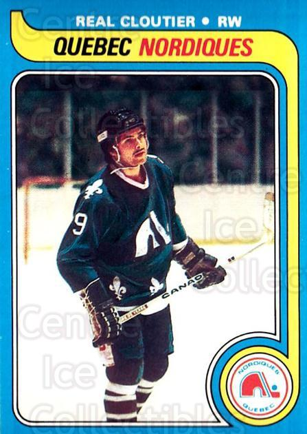 1979-80 O-pee-chee #239 Real Cloutier<br/>1 In Stock - $2.00 each - <a href=https://centericecollectibles.foxycart.com/cart?name=1979-80%20O-pee-chee%20%23239%20Real%20Cloutier...&quantity_max=1&price=$2.00&code=272205 class=foxycart> Buy it now! </a>