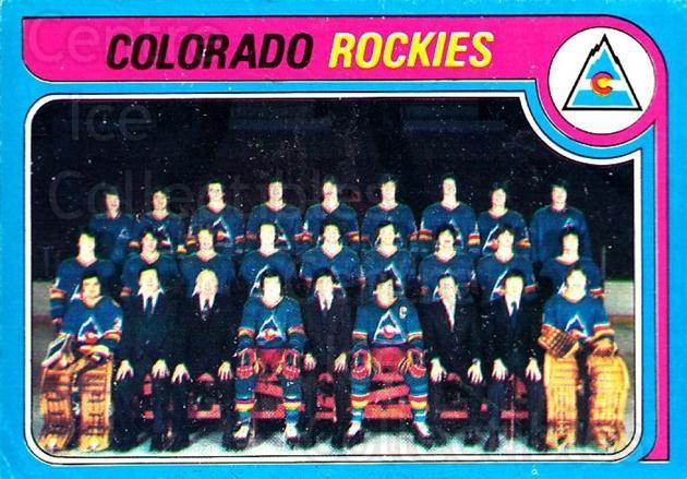 1979-80 O-pee-chee #248 Colorado Rockies, Checklist<br/>1 In Stock - $3.00 each - <a href=https://centericecollectibles.foxycart.com/cart?name=1979-80%20O-pee-chee%20%23248%20Colorado%20Rockie...&quantity_max=1&price=$3.00&code=272214 class=foxycart> Buy it now! </a>